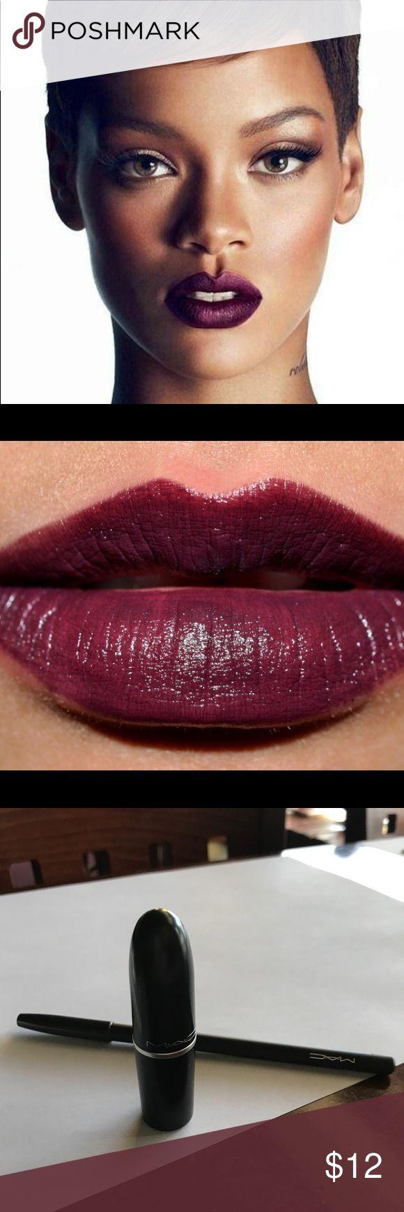 Mac cyber lipstick Brand new item Color: cyber- Intense blackish purple MAC Cosmetics Makeup Lipstick