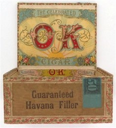 OK Cigar Box 1911