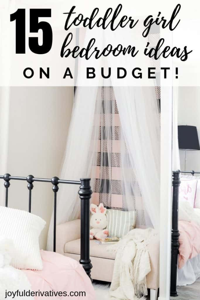 15 Easy Toddler Girl Bedroom Ideas On A Budget Girls Room Diy