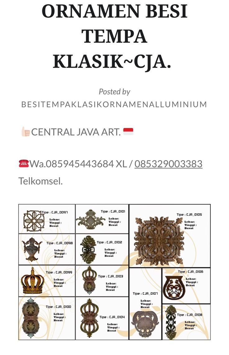 Real Central Java art  Wa.085945443684 xl / 085329003383 telkomsel  Spesial besi tempa klasik dan jual ornamen besi tempa  https://centraljavaartcj.wordpress.com/
