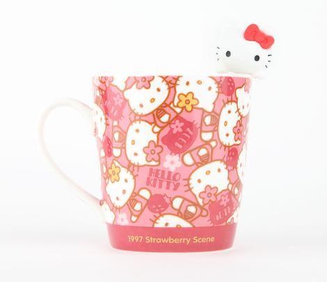 Hello Kitty 40th Anniversary Mug & Stirrer: 1997