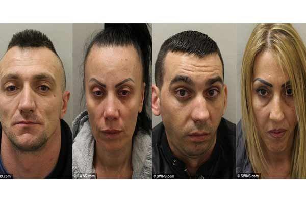 O bandă de proxeneţi români trafica femei în Marea Britanie au primit zeci de ani de închisoare