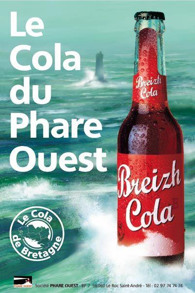 Le Coca Cola breton : le Cola du Phare Ouest (Far West) !
