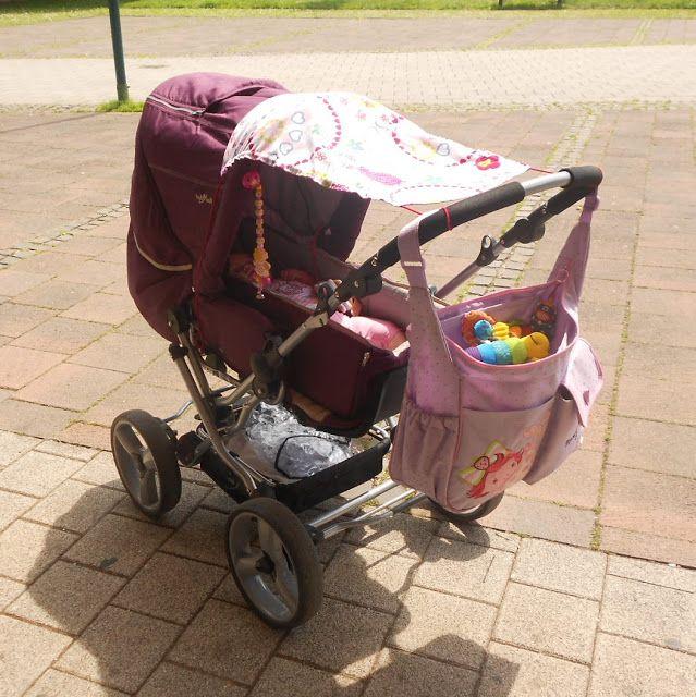 Leyona: DIY Sonnensegel für den Kinderwagen