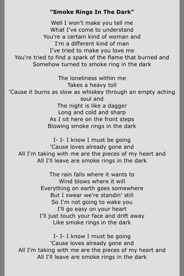 Lyric all i know lyrics : 218 best LYRICAL ♬ | smoke rings in the dark images on Pinterest ...