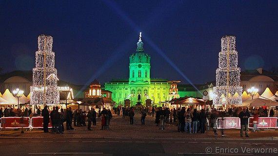 Christmas Market at Schloss Charlottenburg, Berlin