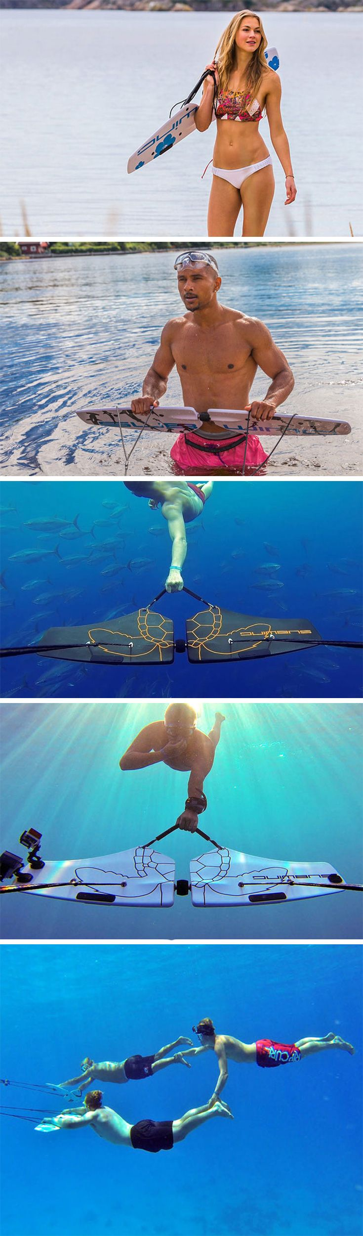 The subwing is like superman meets aquaman you literally fly underwater with this super