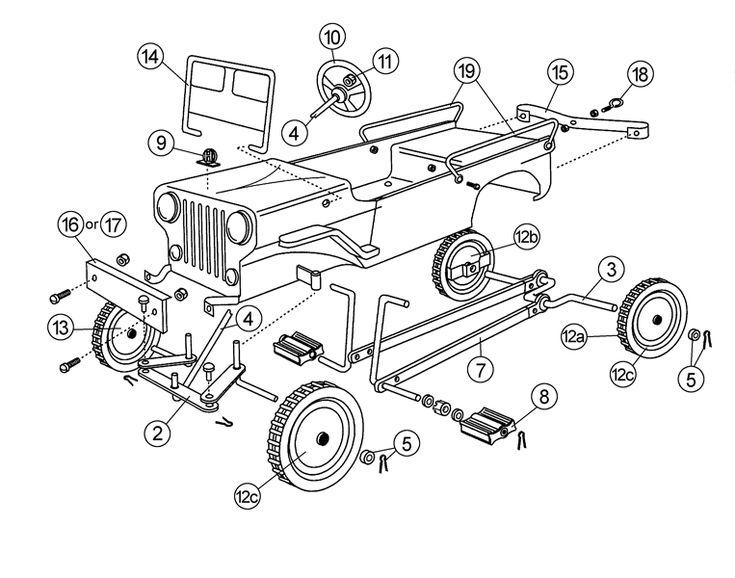 Pedal Car Hardware Kits - Free Shipping @ Speedway Motors                                                                                                                                                      Mais