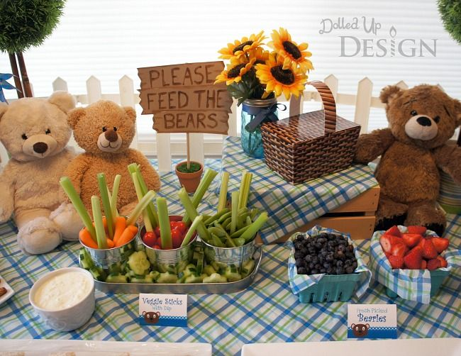 Bear Party (Teddy Bear Picnic) - Moms & Munchkins