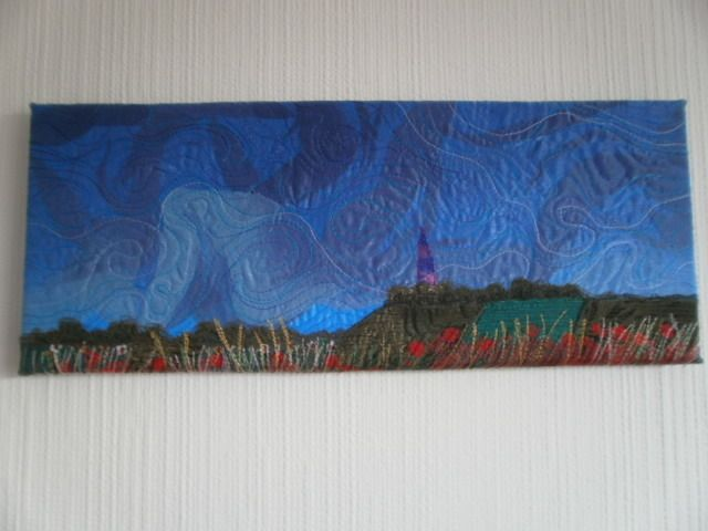 A Summer Storm Textile Art £40.00