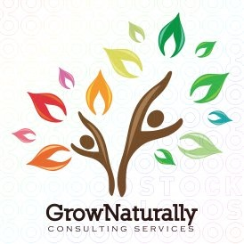 Grow Naturally logo - like this concept