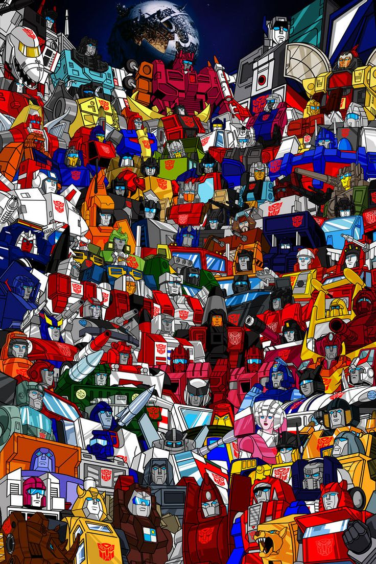 Transformers Generation 1 Cartoon Characters : Transformers g roster poster just about every autobot