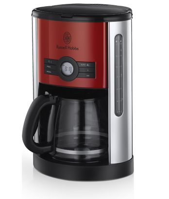 THE SUPPLY SHOPPE - Product - 18591 RUSSELL HOBBS HERITAGE RED DIGITAL COFFEE MAKER