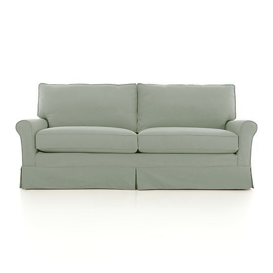 Harborside Slipcovered 3 Seat Sofa Crate And Barrel