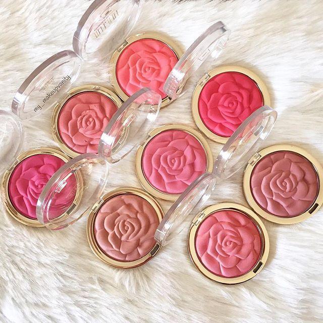 Milani rose blushes