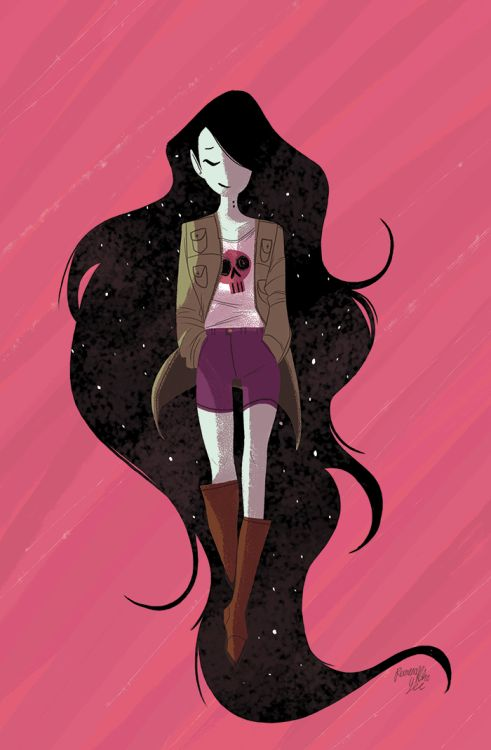 reimenaashelyee: Marceline Gone Adrift Issue #4, AprilAnother...