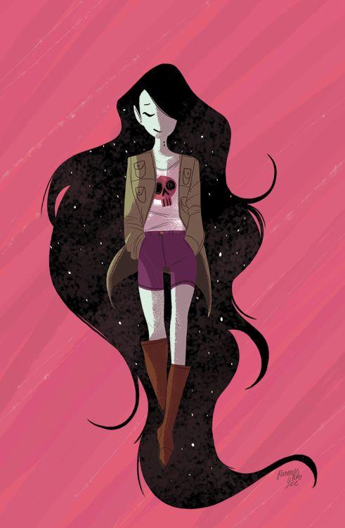 reimenaashelyee:  Marceline Gone Adrift Issue #4, AprilAnother...