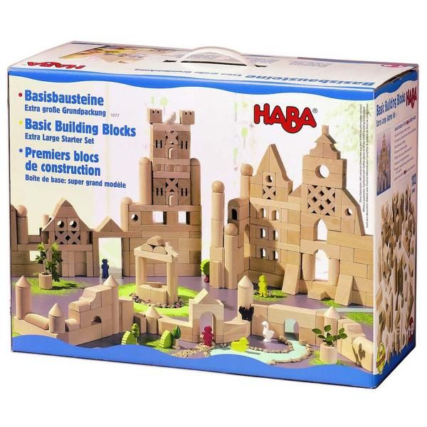 HABA Extra Large Wooden Building Blocks