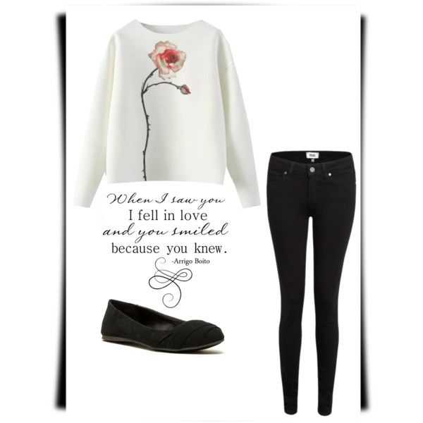 Untitled #7 by zuzulica on Polyvore featuring Paige Denim and Qupid