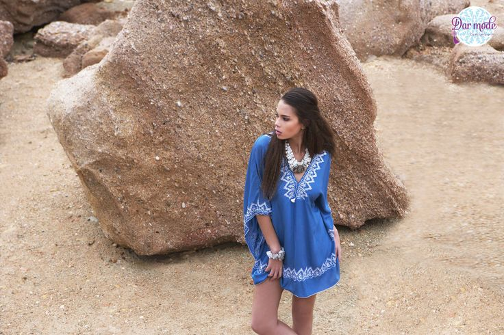 Tunic Hanaa・Salt in the air Sand in my hair lookbook