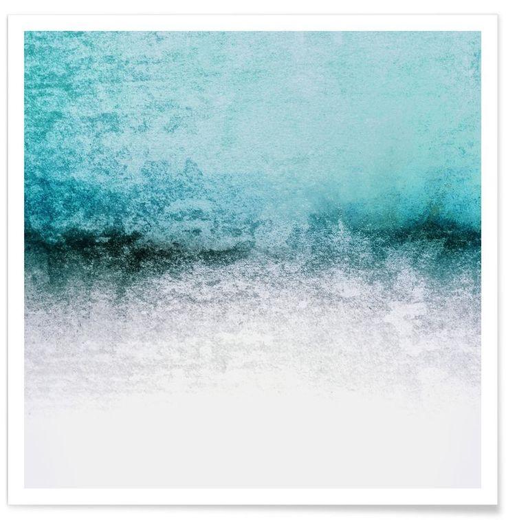 Murals, Art Mural, Canvas Prints, Contemporary Art, Aqua, Teal, Shop,  Parents Bedroom, Buy