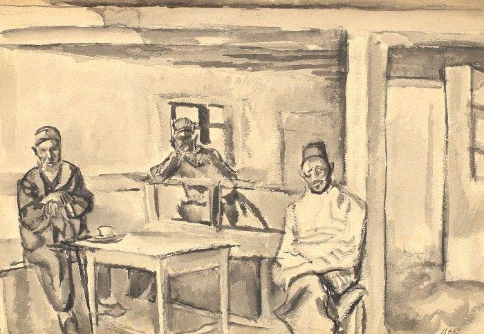 Turci în cafenea