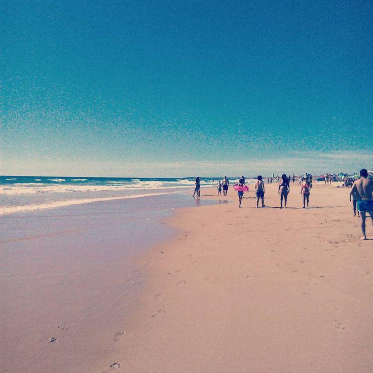 La inmensidad de las playas de #Cádiz #Conil #palmar
