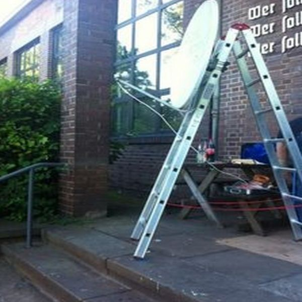 Top 10 Ways Not to Install a Satellite Dish  Installation fees? Never heard of them.  #satellite #skynews #TVTea