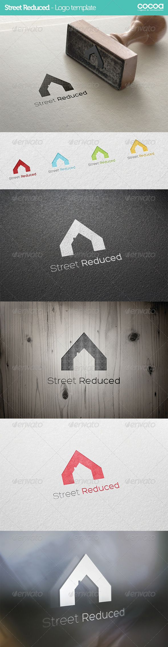 Street Reduced  Logo Template — Vector EPS #commerce #logo template • Available here → https://graphicriver.net/item/street-reduced-logo-template-/6075305?ref=pxcr