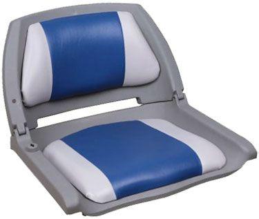 Кресло складное для лодки (75109GB)  Компактное кресло с пластиковым каркасом и вставками из мягкого винила на спинке и сиденье. Спинка имеет фиксатор складывания. Сиденье может быть установлено на большинство моделей лодок, на ровный участок палубы. Крепится при помощи саморезов (4 шт.). Совместно с креслом можно использовать дополнительные аксессуары:• подстаканник для кресла - 75135;• поворотная платформа для кресла - 115026;• стойка под кресло 8WD1250, 8WD1251 или 8WD1255. Ширина кресла…