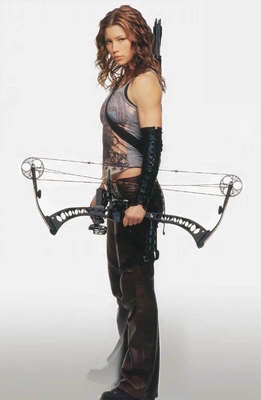 Jessica Biel in Blade Trinity