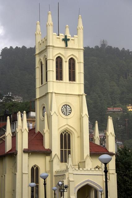 St. Michael's Catholic Church, Shimla by viwehei, via Flickr