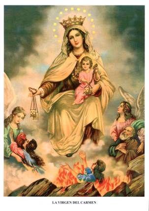 Breve Historia de la Virgen del Carmen | Compartiendo Luz con Sol