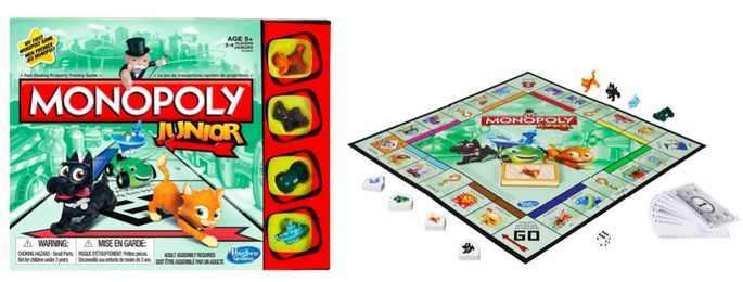 I'm learning all about MONOPOLY® Junior at @Influenster!