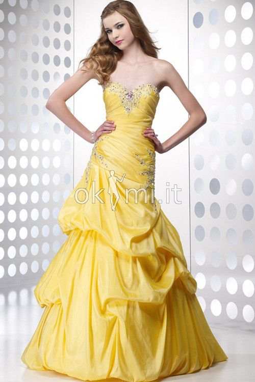 Abito Quinceanera Bassa Cuore Ball Gown Vintage
