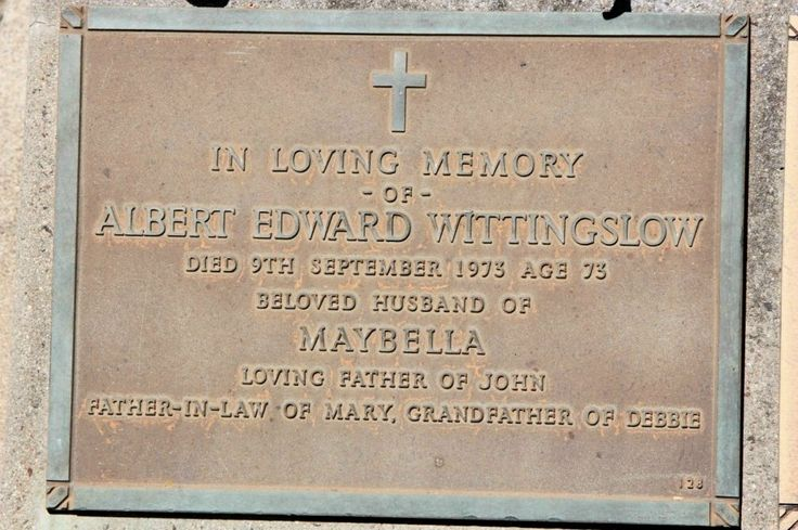 Maybella Robertson Wittingslow (1899 - 1986) - Find A Grave Photos