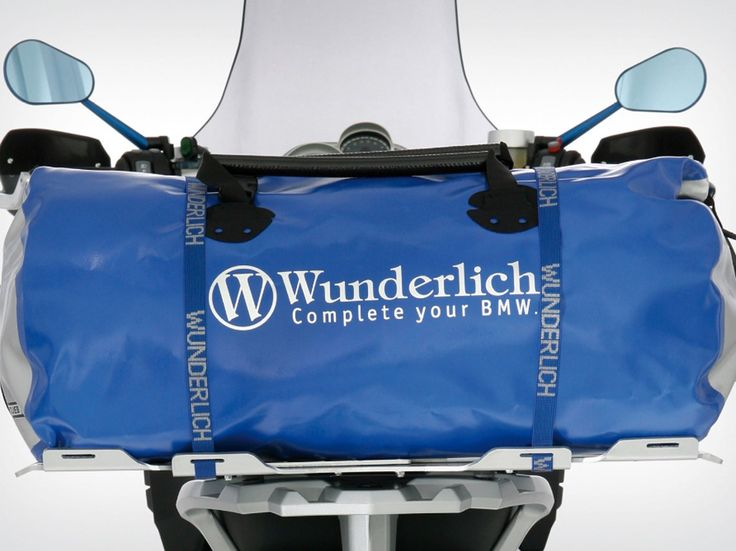 Wunderlich Ortlieb Rack Pack - silver-blue