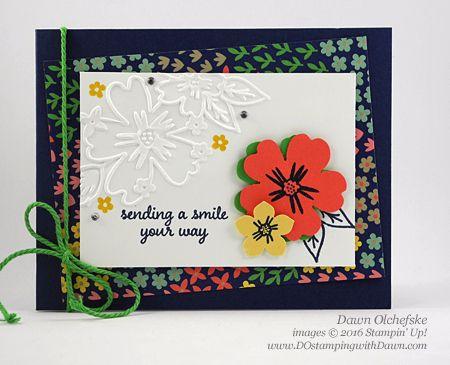 Coming June 1st...Affectionately Yours Suite card created by Dawn Olchefske for DOstamperSTARS Thursday Challenge #DSC178 #dostamping #stampinup
