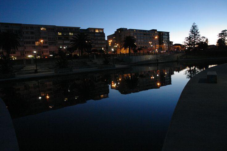 Kings Beach, Port Elizabeth, South Africa.  Night photography by  Julian Keet