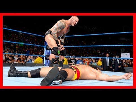 WWE 2k18: Wwe: randy orton interrumpió la celebración de rusev con un 'rko' en smackdown []