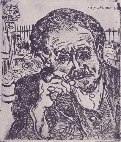 L'uomo con la pipa (Ritratto del dottor Gachet)