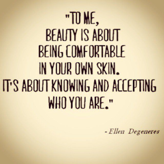 There's nothing quite as freeing as being comfortable in your own skin. #HAES #bodyimage