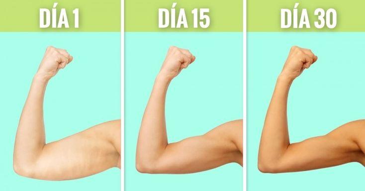 Los 9 mejores ejercicios caseros para eliminar la flaccidez y grasa de los brazos