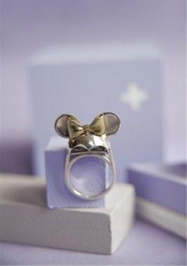 D_Luxe Jewellery 'Minni Cap Ring'