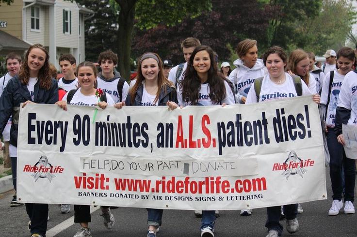 EVERY 90 SECONDS, AN ALS PATIENT DIES.
