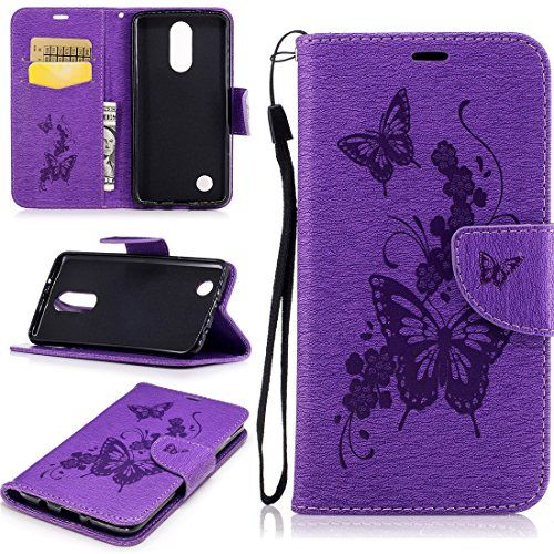 LG Aristo Case, LG K8 2017 Case, LG LV3 Case, Love Sound [Wrist Strap] PU Leather Wallet Case Flip Cover Built-in Card Slots Stand for LG K8 2017 / LG Aristo / LG LV3 - A-04-Butterfly Flower-Purple  https://topcellulardeals.com/product/lg-aristo-case-lg-k8-2017-case-lg-lv3-case-love-sound-wrist-strap-pu-leather-wallet-case-flip-cover-built-in-card-slots-stand-for-lg-k8-2017-lg-aristo-lg-lv3/?attribute_pa_color=a-04-butterfly-flower-purple  Note:This case is fit for LG K8 2017