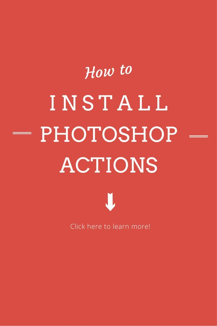 Nothing is more frustrating then buying Photoshop Actions and not knowing how to install them. These easy to follow steps will have you up in no time!