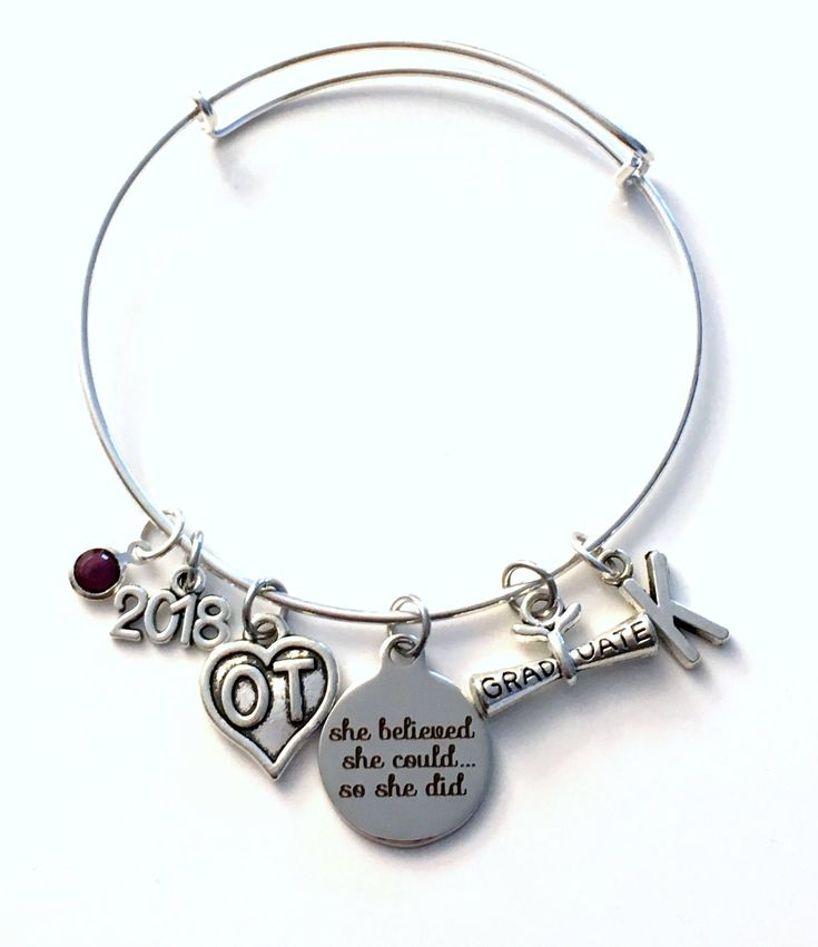 Pretty Inspiration Affirmation Bracelet Etsy She Believed Could So