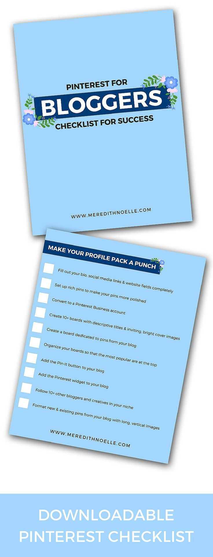 Want to rock Pinterest? Download the Pinterest for Success checklist!