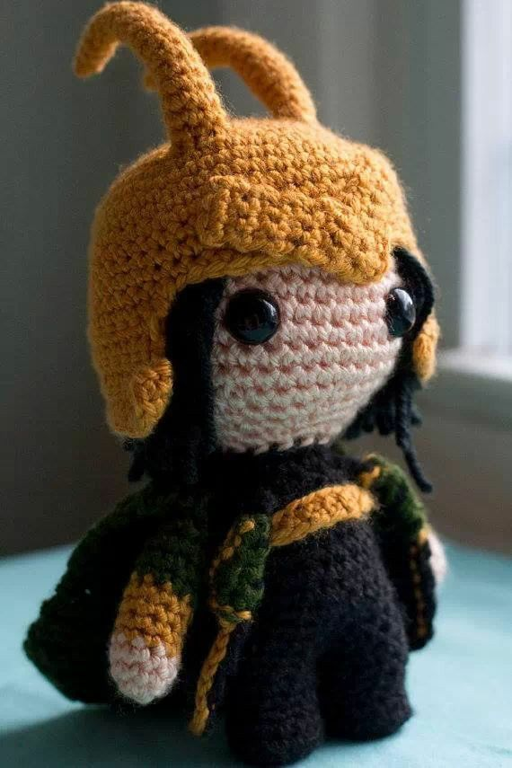 Loki. I must learn to crochet! Or whatever this is.